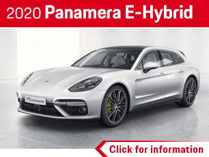 Click to browse our 2020 Porsche Panamera E-Hybrid information in Norwalk, CA