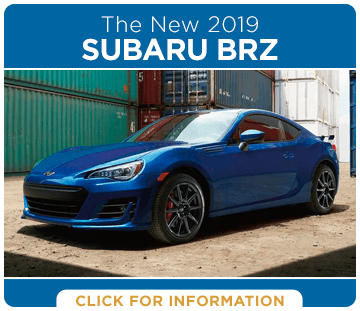 Click to view our 2019 Subaru BRZ model information at Carter Subaru Ballard