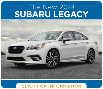 Browse our 2019 Subaru Legacy model information at Hanson Subaru in Olympia, WA