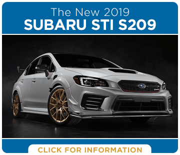 Browse our 2019 Subaru STI S209 Information at Capitol Subaru of Salem