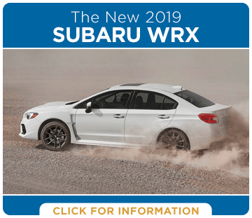 Browse our 2019 Subaru WRX model information at Hanson Subaru in Olympia, WA