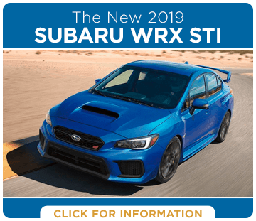 Browse our 2019 Subaru WRX STI model information at Hanson Subaru in Olympia, WA