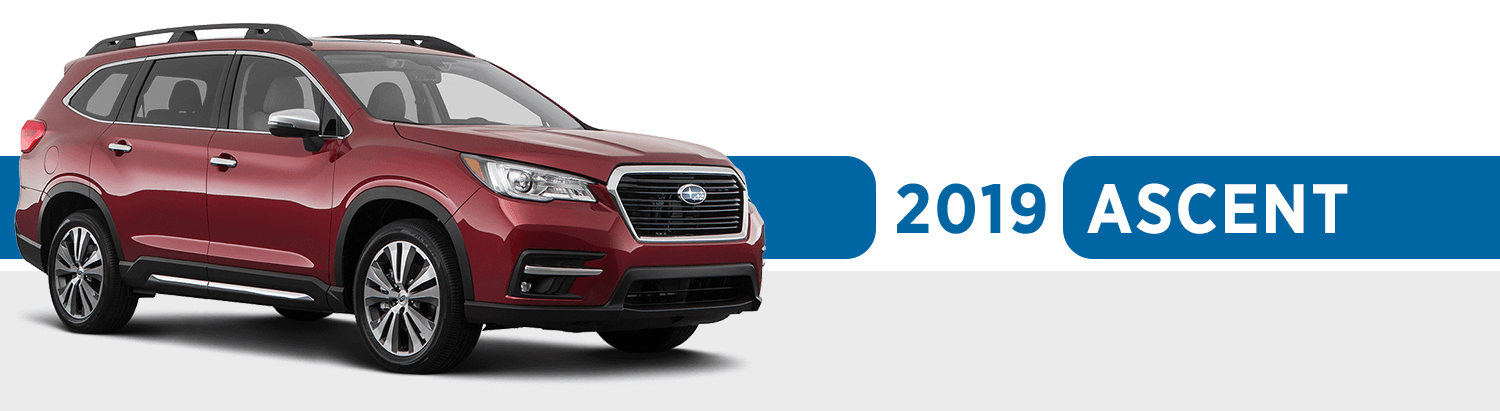 Review The New 2019 Subaru Ascent Model Features & Options now available at Nate Wade Subaru