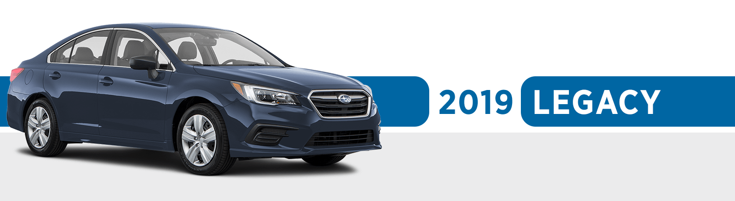 Review The New 2019 Subaru Legacy Model Features & Model Options