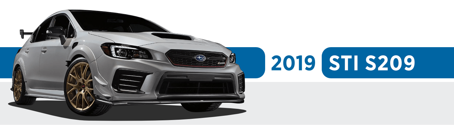 Limited-Edition 2019 Subaru STI S209 Information in Beaverton, OR