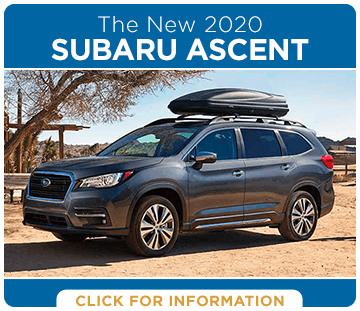 Browse our 2020 Subaru Ascent model information at Hanson Subaru in Olympia, WA