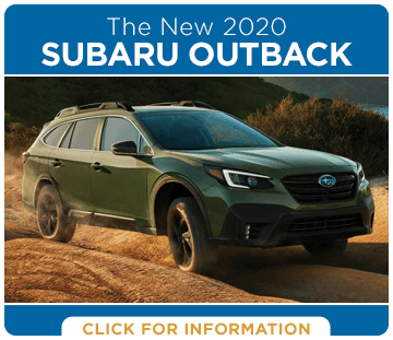Click to research the 2020 Subaru Outback model in Harriman, TN