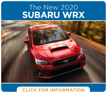 Browse our 2020 Subaru WRX model information at Hanson Subaru in Olympia, WA