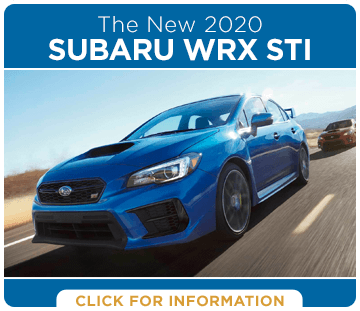 Click to research the 2020 Subaru WRX STI model in Harriman, TN