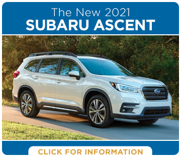 Click to research the exciting new 2021 Subaru Ascent model at Shingle Springs Subaru serving Shingle Springs, CA