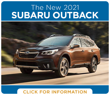 Click to research the exciting new 2021 Subaru Outback model at Shingle Springs Subaru serving Shingle Springs, CA