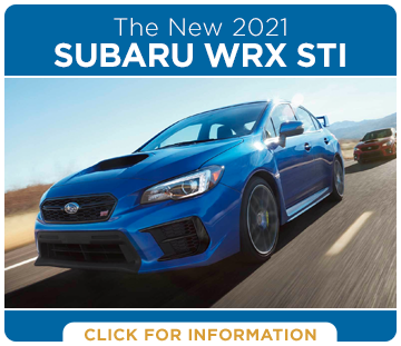 Click to research the exciting new 2021 Subaru WRX STI model at Shingle Springs Subaru serving Shingle Springs, CA