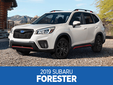 Browse our 2019 Subaru Forester model information at Subaru Superstore of Surprise