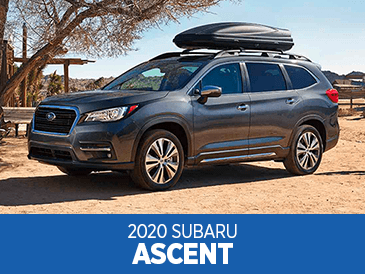 Browse our 2020 Ascent model information at Subaru Superstore of Chandler
