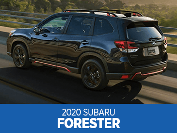 Browse our 2020 Subaru Forester model information at Subaru Superstore of Surprise