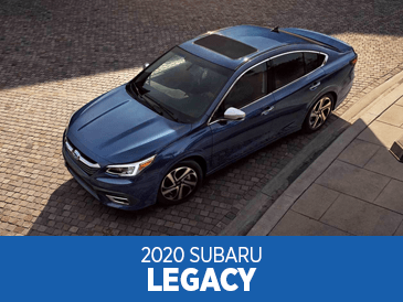 Browse our 2020 Legacy model information at Subaru Superstore of Chandler