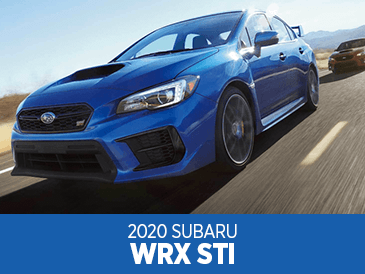 Browse our 2020 Subaru WRX STI model information at Subaru Superstore of Surprise