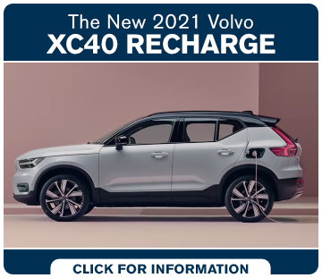 Click to view our 2021 Volvo XC40 Recharge research at Volvo Cars South Bay