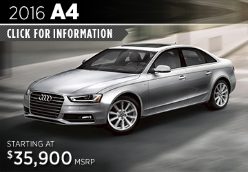Click For Details About The 2016 Audi A4 Model in Naperville, IL