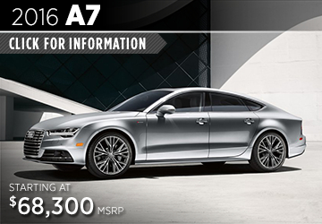 Click For Details About The 2016 Audi A7 Model in Naperville, IL