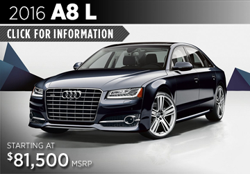 Click For Details About The 2016 Audi A8L Model in Naperville, IL
