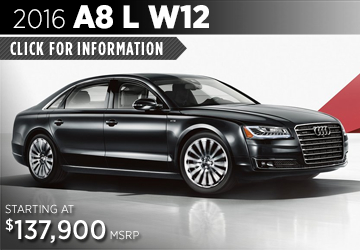Click For Details About The 2016 Audi a8 l w12 Model in Naperville, IL