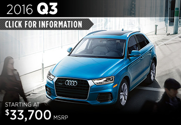 Click For Details About The 2016 Audi Q3 Model in Naperville, IL