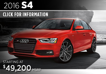 Click For Details About The 2016 Audi S4 Model in Naperville, IL
