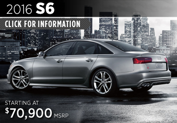 Click For Details About The 2016 Audi S6 Model in Naperville, IL
