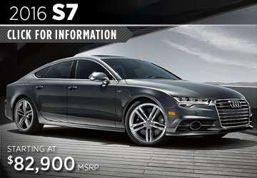 Click For Details About The 2016 Audi S7 Model in Naperville, IL