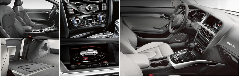 2016 Audi A5 model interior