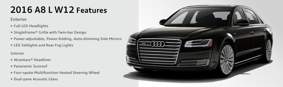 Audi A L W Model Features Information Chicago Car Sales - Audi a8 l w12