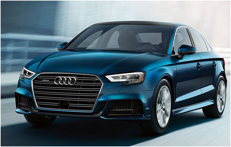 2017 Audi A3 model exterior features