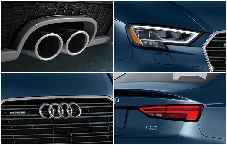 2017 Audi A3 model exterior design