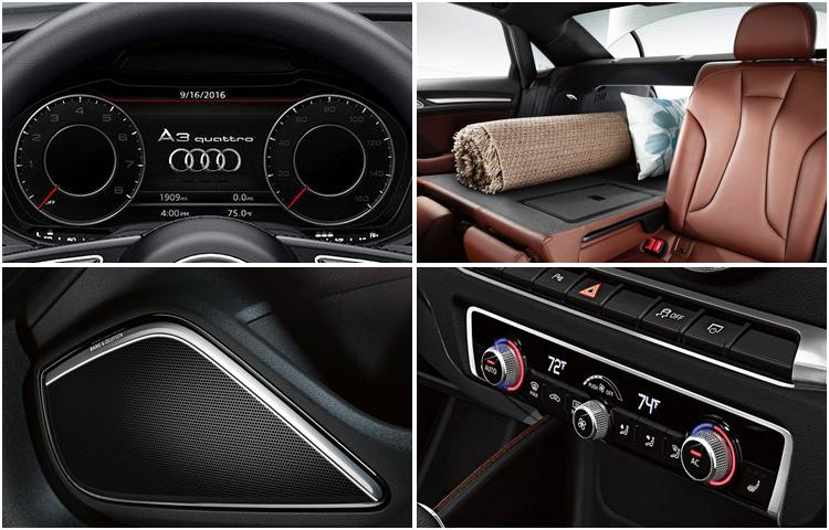 2017 Audi A3 model interior design