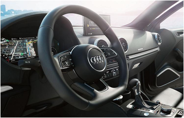 2017 Audi A3 model interior features