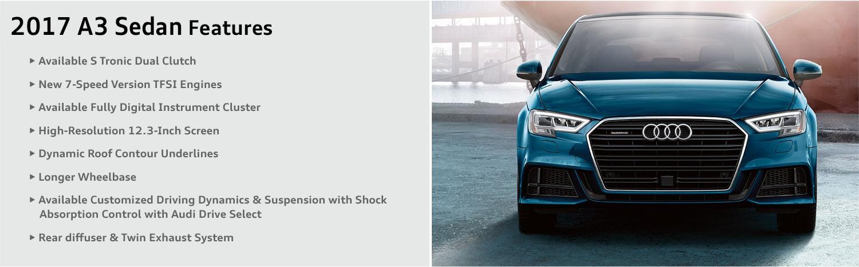 2017 Audi A3 model features