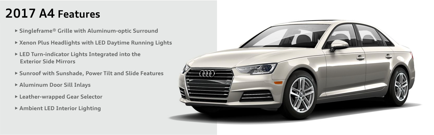 Audi A Model Performance Features Specifications Chicago - Audi car features