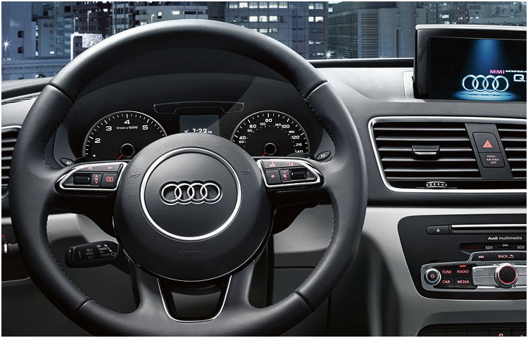 2017 Audi Q3 model interior features & design