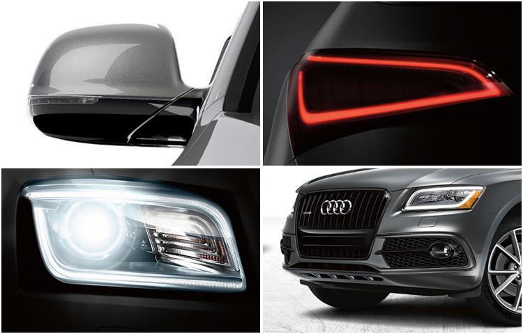 2017 Audi Q5 model exterior design & style