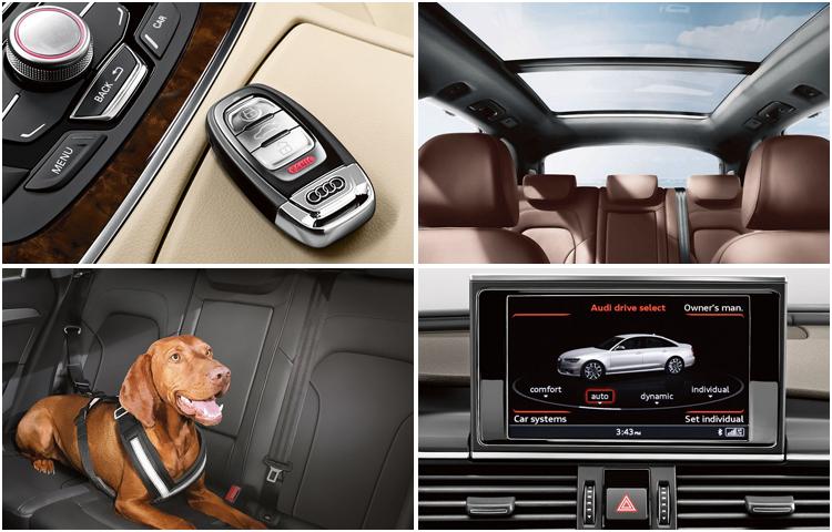 2017 Audi Q5 model interior