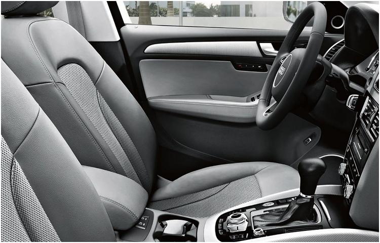 2017 Audi Q5 model interior features & design