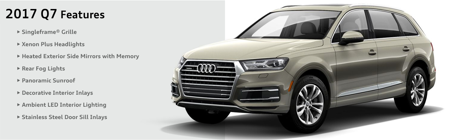 2017 Audi Q7 Model Features Naperville Il