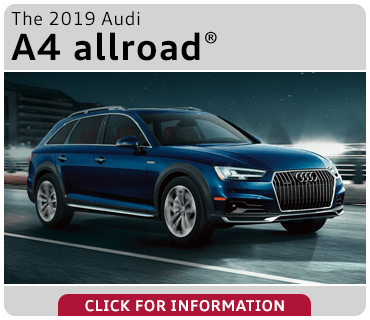 Click to browse our 2019 Audi A4 allroad model information at Audi Gilbert