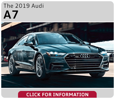 Click to browse our 2019 Audi A7 model information at Audi Gilbert