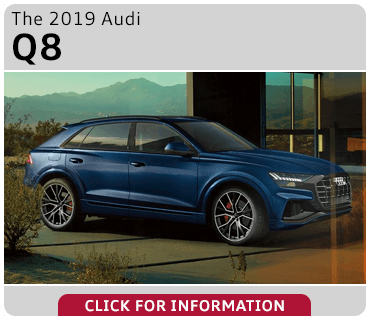 Click to browse our 2019 Audi Q8 model information at Audi Gilbert
