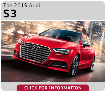 Click to browse our 2019 Audi S3 model information at Audi Gilbert