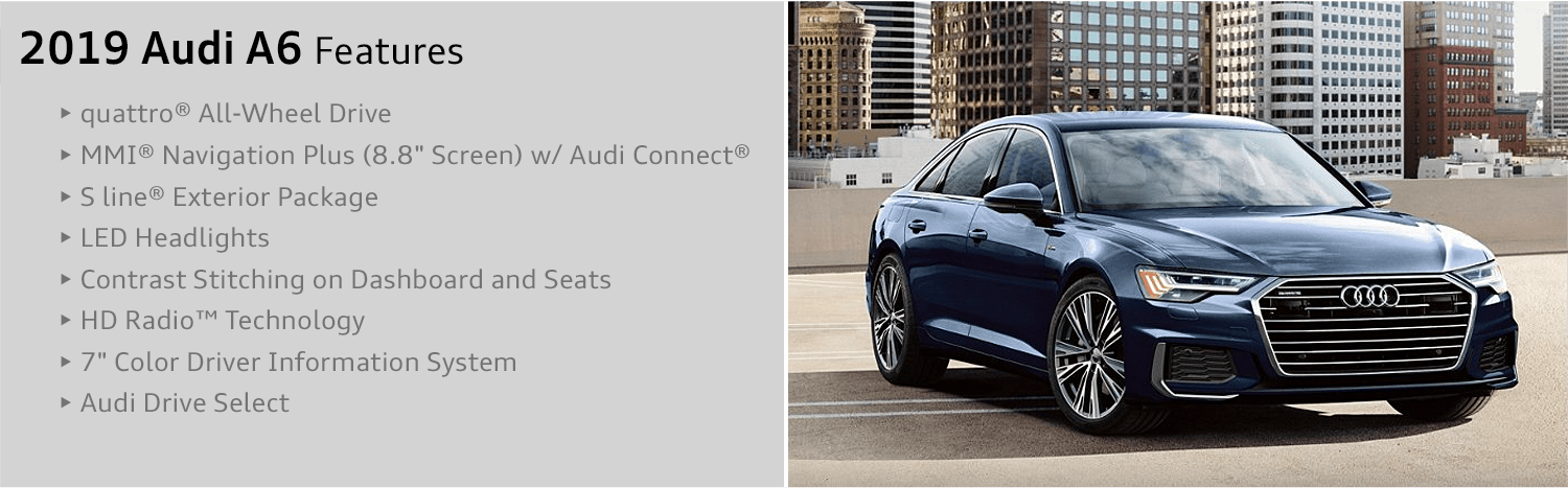 2019 Audi A6 Sedan: Comfort and Performance in a Classic