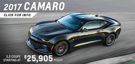 Click to View Our 2017 Chevrolet Camaro Model Information in Salem, OR