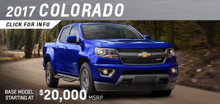 Click to research the new 2017 Chevrolet Colorado model in Salem, OR